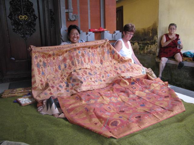 Silk ceremonial cloths