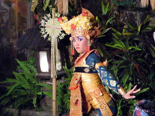 Balinese dancer.