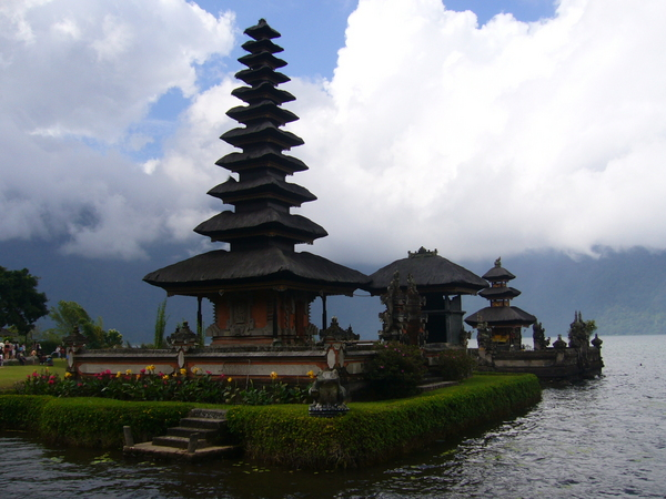 Bali has thousands of beautiful temples.